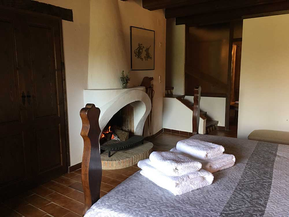 Habitació llar de foc